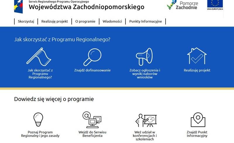 Projekty RPO WZP w I.kwartale 2016 roku dla firm z regionu