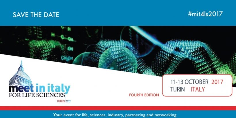 Meet In Italy for Life Sciences 2017, Turin 11th – 13th October