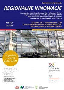 """Konferencja """"Regionalne innowacje"""""""