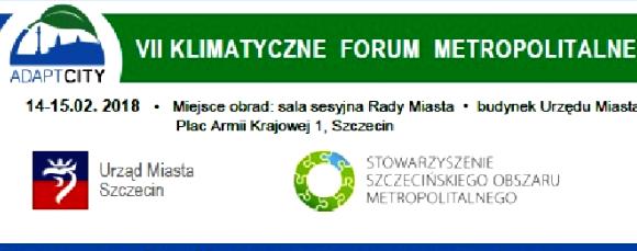 VII Klimatyczne Forum Metropolitalnym w Szczecinie