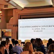 """Klaster """"Zielona Chemia"""" na konferencji """"Cluster Garden"""""""