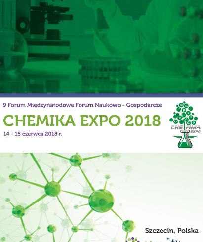 Chemika Expo 2018, 14 czerwca 2018 roku w Szczecinie – Broszura informacyjna