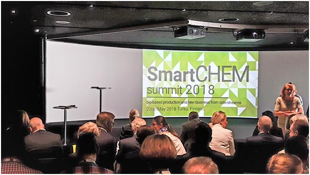 """""""Zielona Chemia"""" na konferencji SmartChem Summit 2018 w Turku w południowej Finlandii"""