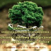 Konferencja: System ochrony i odnowy biologicznie czynnej powierzchni ziemi w Polsce