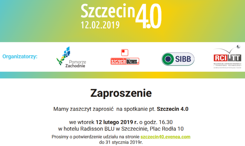 Industry 4.0 – meeting for SME in Szczecin