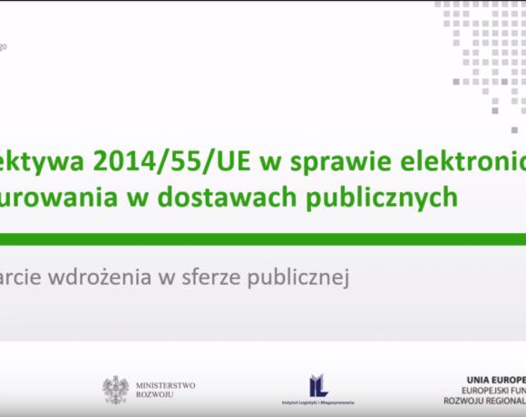 """(Polski) Szkolenie stacjonarne pt.: """"Elektroniczne fakturowanie dla biznesu"""" – 26.02.2019 w Szczecinie"""