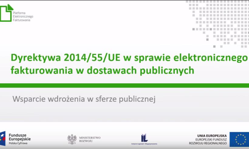 """Szkolenie stacjonarne pt.: """"Elektroniczne fakturowanie dla biznesu"""" – 26.02.2019 w Szczecinie"""
