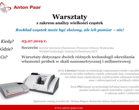 """(Polski) Warsztaty pt. """"Rozkład cząstek może być złożony, ale ich pomiar – nie!"""""""