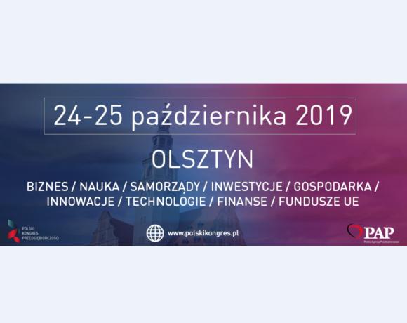 (Polski) VII Polski Kongres Przedsiębiorczości w Olsztynie – EKOSTRATEG 2019
