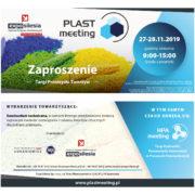 Targi Przemysłu Tworzyw PLASTmeeting – 27-28 listopada 2019