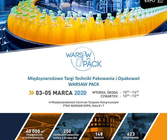 Ruszyły targi Warsaw Pack i Food Tech Expo
