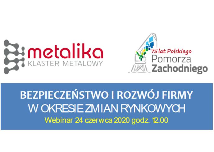 """(Polski) Webinar: """"BEZPIECZEŃSTWO I ROZWÓJ FIRMY W OKRESIE ZMIAN RYNKOWYCH"""""""