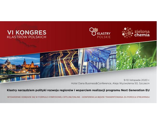 VI Congress of Polish Clusters– 9-10 November 2020, Szczecin